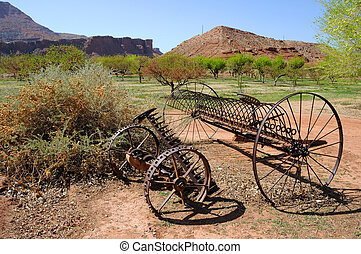 Historic Plow at Desert Canyon Ranch