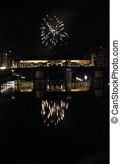 historic Ponte Vecchio bridge in Florence
