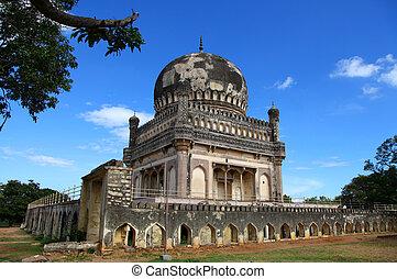 Historic Quli Qutb Shahi tomb