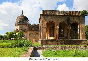 Qutbshahi tombs in Hyderabad