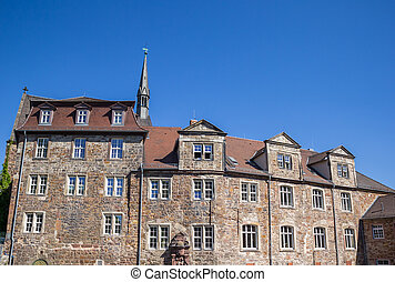 Historic renthof building in the center of Kassel
