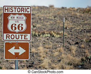 Historic Route 66 Route Background