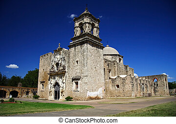 Historic San Jose Mission in San Antonio Missions National...