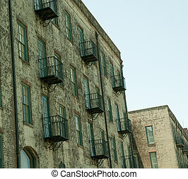historic Savannah building