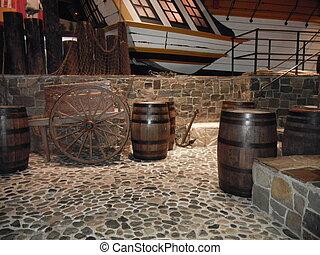 Historic shipping dock - Historic Stone shipping port