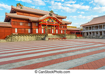 Historic Shuri Castle of Okinawa, Japan