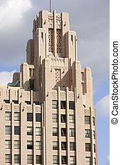 Historic Skyscraper in Downtown Los Angeles