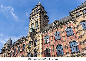 Historic Staatsanwalt building in the center of Bremen