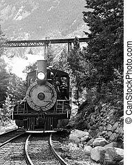 Historic Steam Locomotive