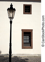 Historic street lamp