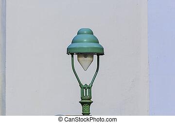 historic street lantern in Bonn