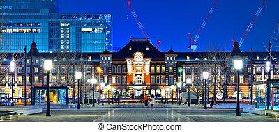 Tokyo Station - Historic Tokyo Station in the Marunouchi...