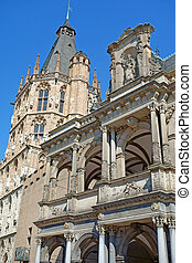Historic Town Hall Cologne - The City Hall (German: Rathaus...