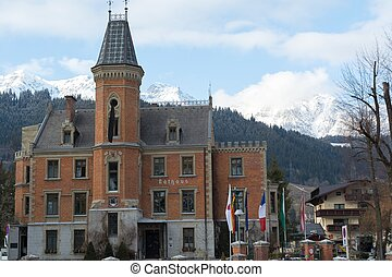 altes Rathaus der Gemeinde Schladming im ehemaligen Jagdschloss - Austria