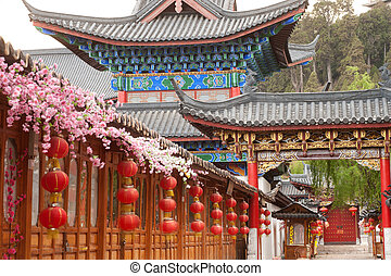 Historic town of Lijiang,UNESCO World heritage site in Yunnan,Ch