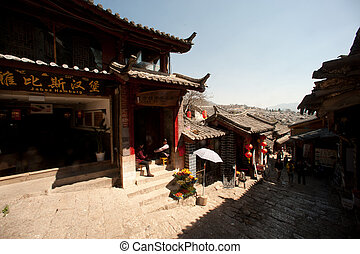Historic town of Lijiang,UNESCO World heritage site in...