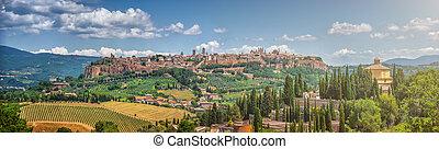 Historic town of Orvieto, Umbria, Italy - Beautiful...