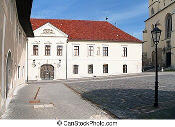 historic town Trnava, Beautiful city in Slovakia - View from...