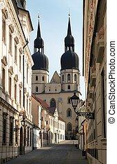 historic town Trnava, Beautiful city in Slovakia
