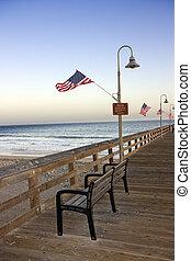 Historic Ventura Pier, California