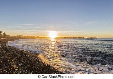 Historic Ventura Pier Sunrise