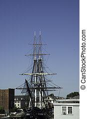 historic war ship