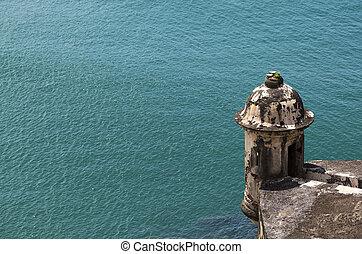 historic watchtower