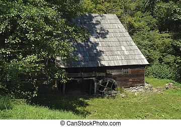 water mill in Romania