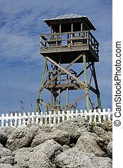 Historic World War II Watchtower
