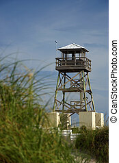 Historic World War II Watchtower