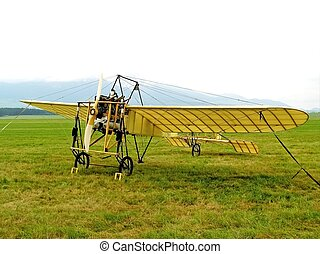 Historical aircraft in detail view - Picture time airshow...