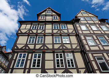 Historical architecture in Hannover, Lower Saxony, Germany