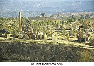 Historical area mining, Spain