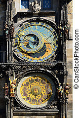 Historical astronomical clock tower, Prague