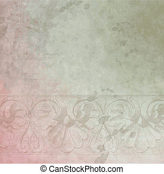 Historical background - Aged template with copy space
