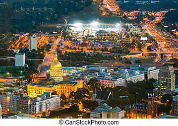 Atlanta Georgia State Capital in USA