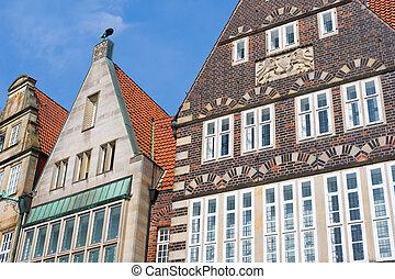 Historical building in Bremen