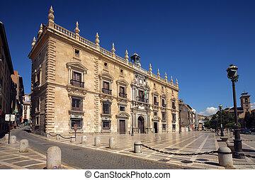historical building in Granada,  Spain