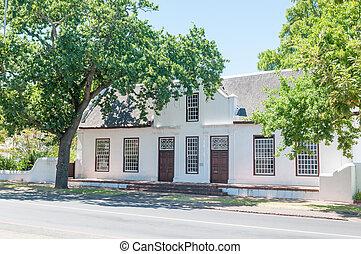 Historical building in Stellenbosch