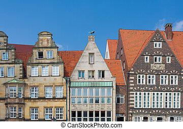 Historical buildings in Bremen
