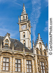 Historical buildings in Ghent