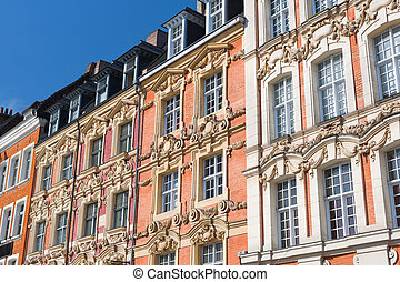 Historical buildings in Lille