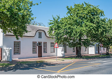 Historical buildings in Stellenbosch