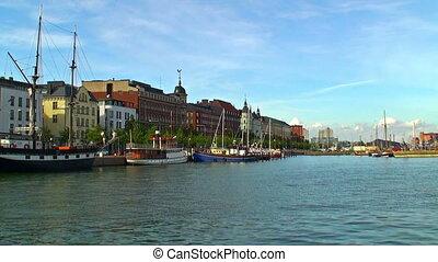 Historical center of Helsinki