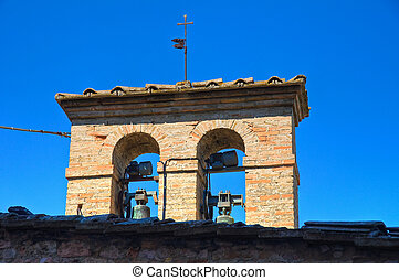 Historical church of Assisi. umbria. Italy.