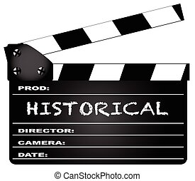 Historical Clapperboard