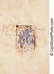 historical house stret number 26