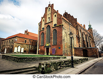 Historical Old Town of Gdansk