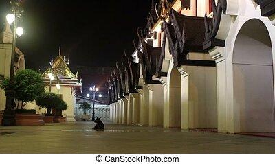 historical Palace at night