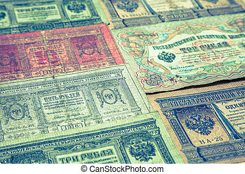 Historical paper money - Historical Austria-Hungary paper...